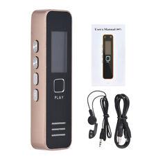 Mini Digital Usb Stimme Audio Sound Recorder Stift Kleinste Diktiergerät Mp3 8 Gb Player 14 Stunden Aufnahme Für Büro Treffen Tragbares Audio & Video