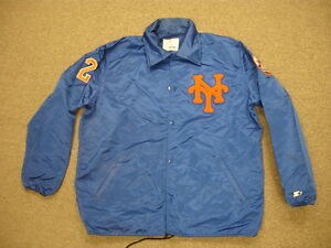 Scott Bradley Game Worn ~1992 New York Mets Jacket