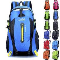 Waterproof Outdoor Hiking Camping Travel Backpack Daypack Rucksack Bag Cover US