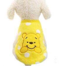 Hundepullover Hundejacke Hundepulli Hunde Welpen Kleidung gelb Gr. L 986