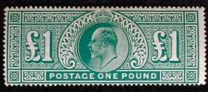 Great Britain GB 1902 KEVII £1 MLH SG#266 GB3257