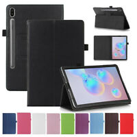 August® Book Case Cover Stand for New Samsung Galaxy Tab S6 10.5