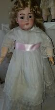 SIMON HALBIG S&H 1079 GERMAN Bisque DOLL wood-comp BODY 29 Inches Tall