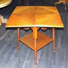Tisch, Spieltisch, Gründerzeit, Eiche, gedrechselt, 1900
