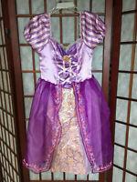 Disney Rapunzel Tangled Costume girls size 4-6x