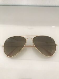 Ray-Ban Flieger Sonnenbrille RB 3025 aviator large metal 112/85 58-14 3n