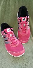Adidias Adiprene + Women's Running Shoe Size 10M Pink With Reflective