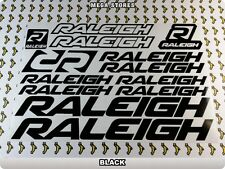 RALEIGH Stickers Decals Bicycles Bikes Cycles Frames Forks Mountain MTB BMX 59M