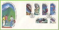 New Zealand 1993 Tourism set on First Day Cover