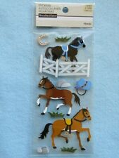10 Fun HORSE STICKERS ~ HORSES & Accessories ~ Recollections Themed Collectibles