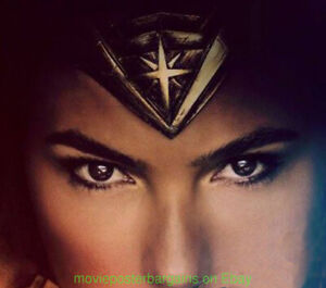 WONDER WOMAN MOVIE POSTER 27x40 CompleteSet of ALL 5 DS Mint ADVANCE One Sheets!