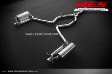 RES Valvtronic Catback +1 Tip Each Side FOR Benz (A207/C207) 14-15 2.0T 2/4 Door