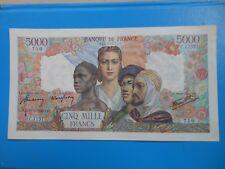 5000 francs Empire Français 13-9-1945 F47/43 SUP