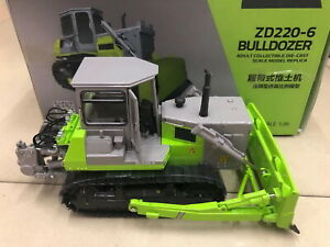 1/35 Scale Zoomlion ZD220-6 Crawler Bulldozer Diecast Model Collection Gift