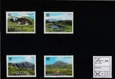 Taiwan postfris 1988 MNH 1831-1834 - Nationaal Park Yangmingshan