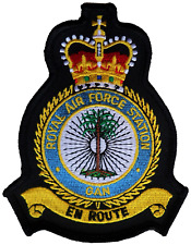 RAF Gan Royal Air Force MOD Crest Embroidered Patch