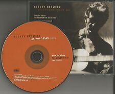 RODNEY CROWELL Telephone Road 2001 USA PROMO Radio DJ CD Single MINT