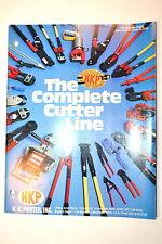 1979 H.K. PORTER HKP COMPLETE CUTTER LINE CATALOG No. B200  #RR974 bolt cable
