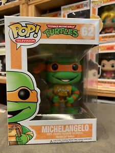 Teenage Mutant Ninja Turtles Michelangelo Funko Pop Vinyl EXPERT PACKAGING