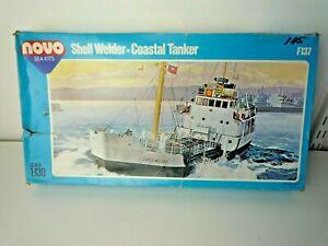 VINTAGE NOVO F137 SEA KITS SHELL WELDER -COASTAL TANKER 1:130 SCALE PARTS SEALED