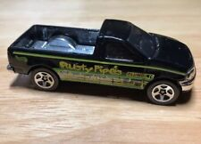 Hot Wheels 1997 Ford F-150 Pickup Rusty Pipes Plumbing EC 1/64 scale