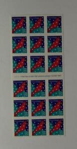 US SCOTT 2874a BOOKLET OF 18 CARDINAL GREETINGS STAMPS 29 CENT FACE MNH