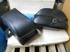 Honda Leather Saddlebags Saddle Bags Set VTX1800R VTX1800S 08L56-MCV-100B
