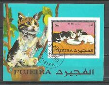 Chats Fureira (32) bloc oblitéré