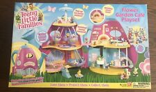 Teeny Little Families Flower Garden Cafe Playset New In Box