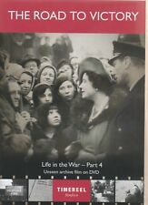 LONDON'S WAR THE ROAD TO VICTORY.  ARCHIVE FOOTAGE. LIFE IN THE WAR