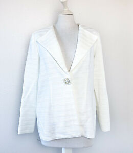 Misook White Coats Jackets For Women For Sale Ebay