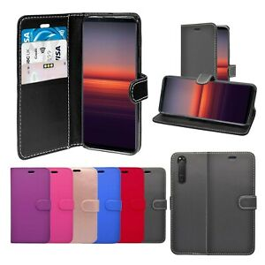 Case For Sony Xperia 5 II Wallet Flip PU Leather Stand Card Slot Pouch Cover