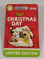 Disney Pin Trading Disney World 2019 Christmas Day Limited Edition Pin