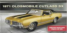"2020 DANBURY MINT BROCHURE for the 1:18 ""1971 OLDSMOBILE CUTLASS SX"