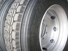 2x Reifen 275/80R22,5 Bridgestone M+S neu + Felgen Unimog LKW Bus 275 80 22 5