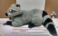 "Mattel Disney Pocahontas Meeko Giant Extra Large Jumbo Plush Raccoon 36"""