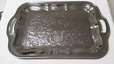 Irwin Rectangular Metal Tray/Handles/Made in Usa