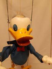 Pelham puppets  Donald duck hand made in England
