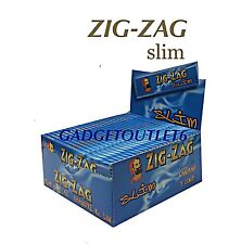 ZIG  ZAG SLIM BLUE KING SIZE ROLLING/SMOKING PAPER FINEST QUALITY BOOKLET OF 50