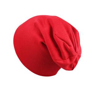 Hip Hop Hat Boys Girls Knitted Cap Winter Warm Kids Multi Color Beanie Hat