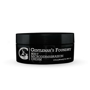 Reset Microdermabrasion Cream For Men Face Scrub Exfoliating Facial Cleanser