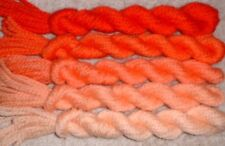 Paternayan Wool 3ply Persian Yarn Needlepoint Crewel 820 Tangerine Orange Family
