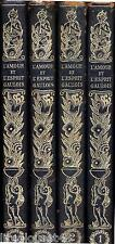 L'amour et l'esprit gaulois a travers l'histoire du XVè au XXe 4 tomes numérotés