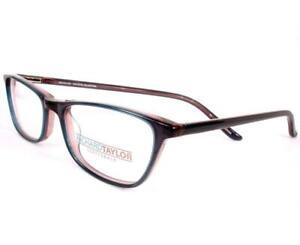Richard Taylor Annika Crystal Blue Pink Women Eyeglasses Optical  50-16-140