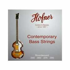 Hofner HCT Roundwound Strings for Violin Bass HCT1133RB
