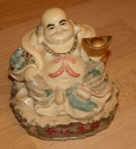 lachender Buddha, China, aus Polyresin, Kunststoff