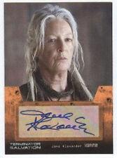 Terminator Salvation Auto Card Jane Alexander