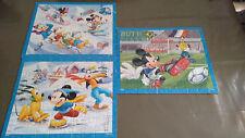 Puzzles Mickey Disney - 3x50 Pièces