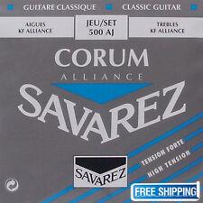 Savarez 500AJ Guitar String Nylon Corum Alliance Acoustic Classical High Tension