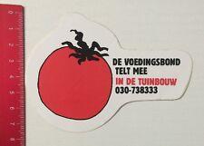 Aufkleber/Sticker: De Voedingsbond Telt Mee In De Tuinbouw (010616102)